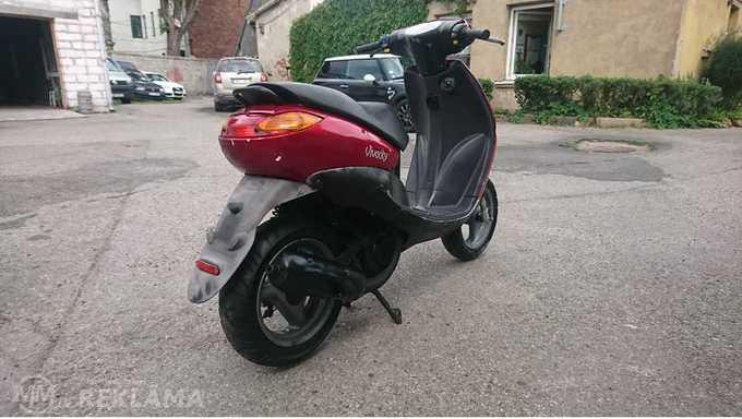 Motorollers Peugeot Vivacity, 1999 g., 14 032 km, 49.0 cm3. - MM.LV