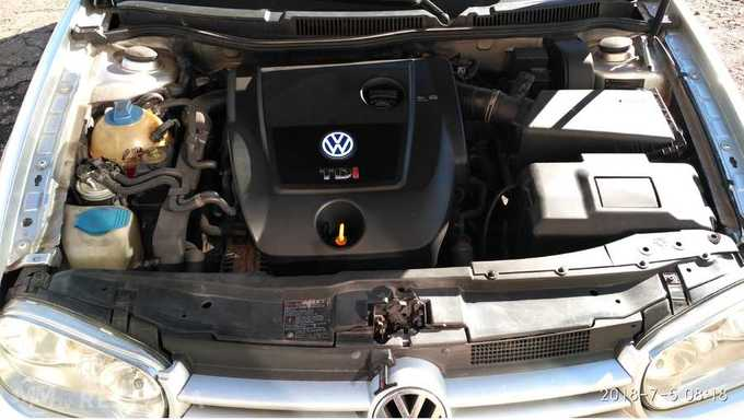 Volkswagen Golf, 2002/Oktobris, 232 777 km, 1.9 l.. - MM.LV