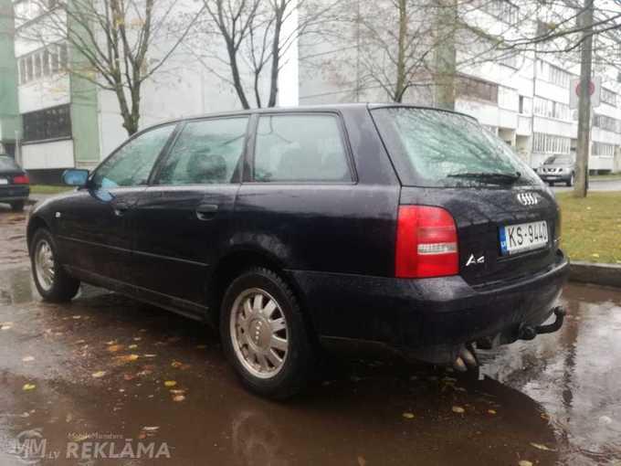 Audi A4, 1999/Maijs, 260 000 km, 1 896.0 l.. - MM.LV