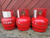 Газовые баллоны 5-ти литровые, пустые. Цена за 1 шт. 4 евро. - MM.LV