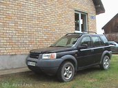 Land-Rover Freelander, 1999/Decembris, 200 000 km. - MM.LV