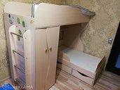 2х этажная детская кроватка и 2 матраса в комплекте - MM.LV