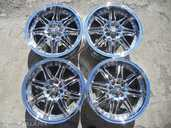 Light alloy wheels Baraccuda uz Audi, vw, bmw 4x100/108 R17, Good cond - MM.LV