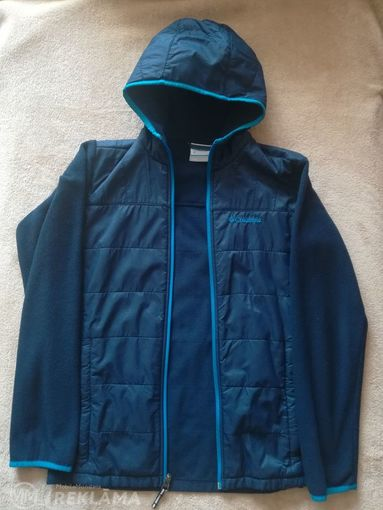 Columbia kids jacket with hood, size L (14/16), in very good condition - MM.LV