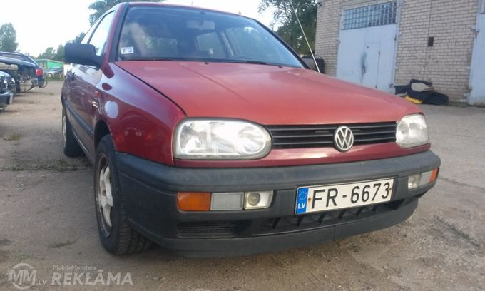 Volkswagen Golf, 1992, 253 680 км, 1.8 л.. - MM.LV