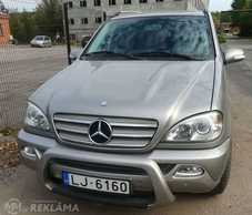 Mercedes-Benz ML270, 2005, 219 000 км, 2.7 л.. - MM.LV