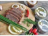 Pārdod meža gaļas konservus - MM.LV