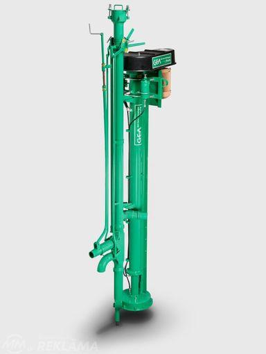 Profesionāls kūtsmēslu sūknis Houle 4 Dairy pump - MM.LV