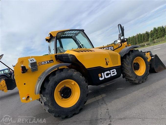Traktors jcb jcb 531-70. - MM.LV