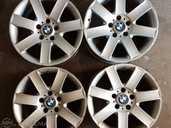 Литые диски BMW R17/8 J, Пользованные. - MM.LV
