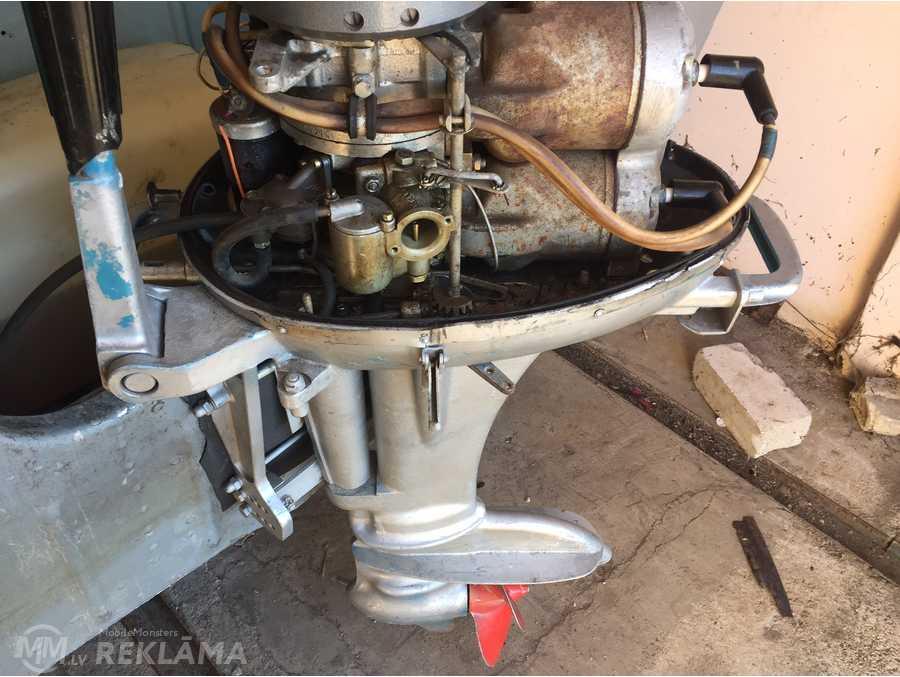 Outboard engine Вихрь 20, 1980. - MM.LV - 1