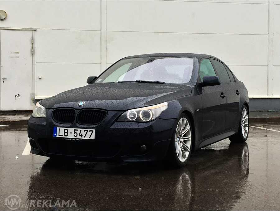 BMW 535, M sport package, 2005/June, 246 187 km, 3.0 l.. - MM.LV - 1