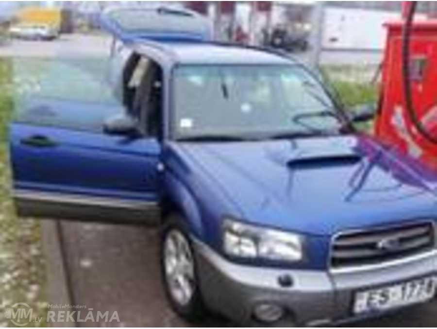 Subaru Forester, 2003/Апрель, 275 000 км, 2.0 л.. - MM.LV - 1