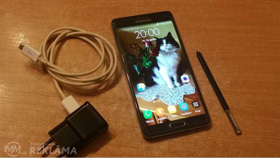 Samsung SM-N910F Galaxy Note 4, 32 Гб, Идеальное состояние. - MM.LV - 1